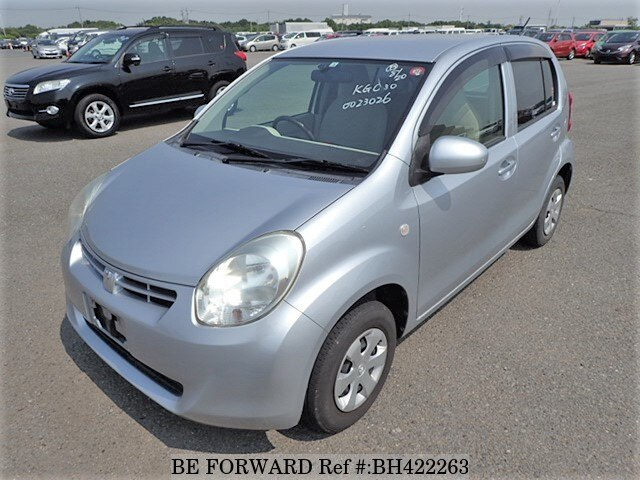 Used 2010 TOYOTA PASSO BH422263 for Sale