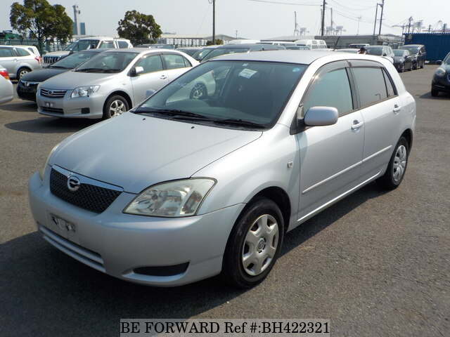 Used 2003 TOYOTA COROLLA RUNX BH422321 for Sale