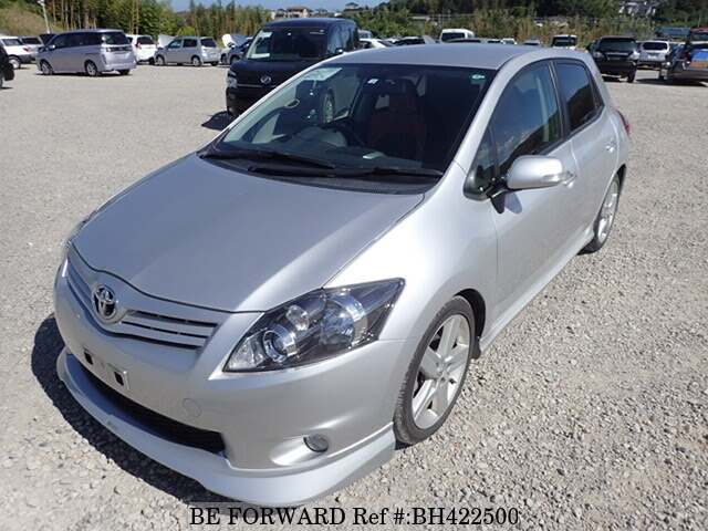 Used 2012 TOYOTA AURIS BH422500 for Sale