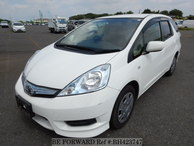 Used 2012 HONDA FIT SHUTTLE HYBRID BH423747 for Sale