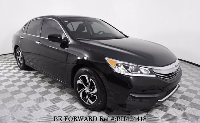 Used 2017 HONDA ACCORD BH424418 for Sale