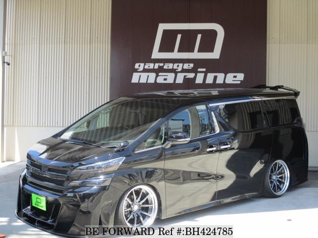 Used 2017 TOYOTA VELLFIRE BH424785 for Sale