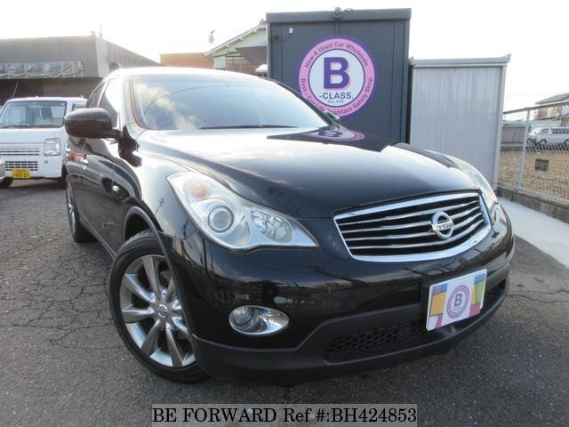 Used 2009 NISSAN SKYLINE CROSSOVER BH424853 for Sale