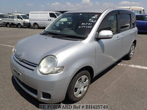 Used 2012 TOYOTA SIENTA BH425749 for Sale