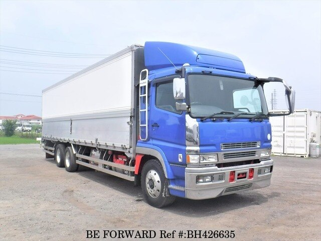 Used 2004 MITSUBISHI FUSO SUPER GREAT BH426635 for Sale