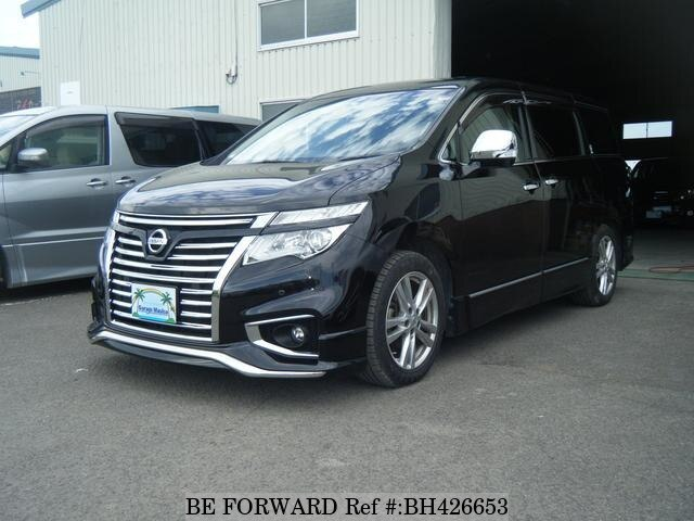 Used 2010 NISSAN ELGRAND BH426653 for Sale