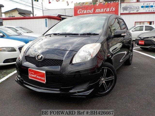Used 2010 TOYOTA VITZ BH426667 for Sale
