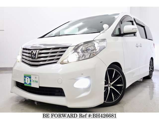 Used 2009 TOYOTA ALPHARD BH426681 for Sale