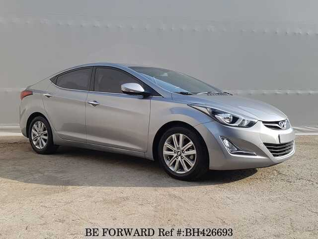 Used 2016 HYUNDAI AVANTE (ELANTRA) BH426693 for Sale