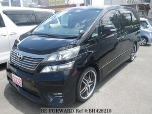 Used 2009 TOYOTA VELLFIRE BH428210 for Sale