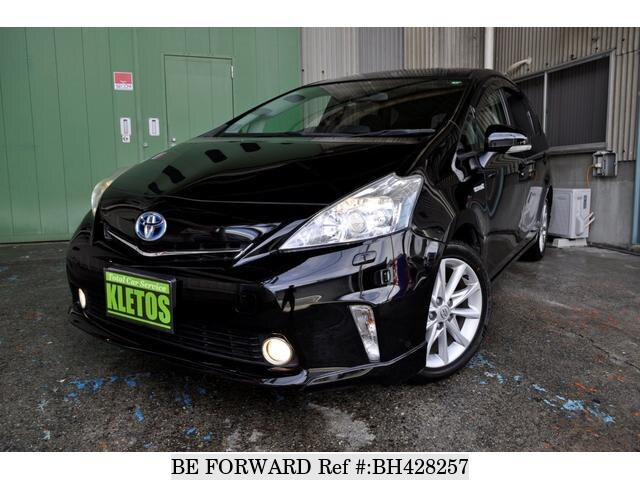 Used 2013 TOYOTA PRIUS ALPHA BH428257 for Sale