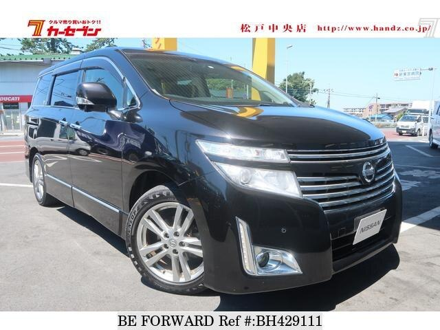 Used 2013 NISSAN ELGRAND BH429111 for Sale