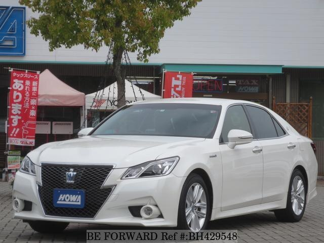 Used 2013 TOYOTA CROWN HYBRID BH429548 for Sale