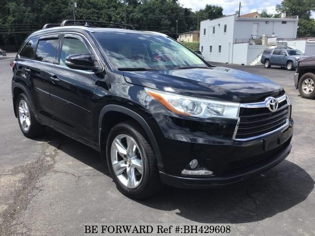 Used 2014 TOYOTA HIGHLANDER BH429608 for Sale