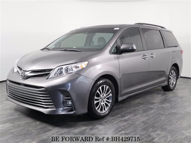 used 2020 toyota sienna xle fwd v6 for sale bh429715 be forward used 2020 toyota sienna xle fwd v6 for
