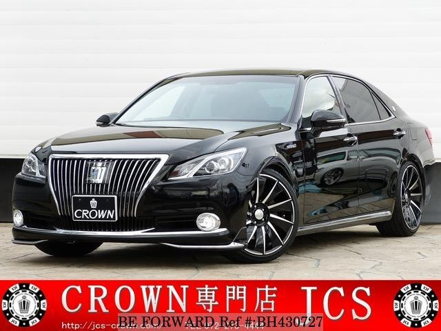 Used 2014 TOYOTA CROWN MAJESTA BH430727 for Sale