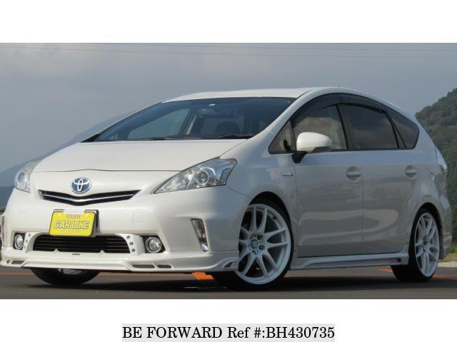 Used 2012 TOYOTA PRIUS ALPHA BH430735 for Sale