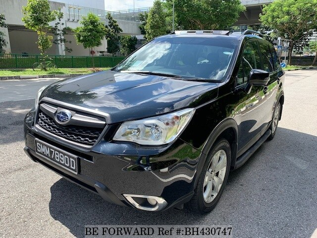 Used 2015 SUBARU FORESTER BH430747 for Sale