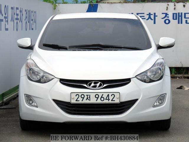 Used 2010 HYUNDAI AVANTE (ELANTRA) BH430884 for Sale