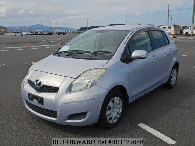 Used 2009 TOYOTA VITZ BH427680 for Sale