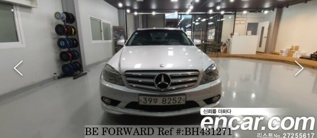 Used 2008 MERCEDES-BENZ C-CLASS BH431271 for Sale