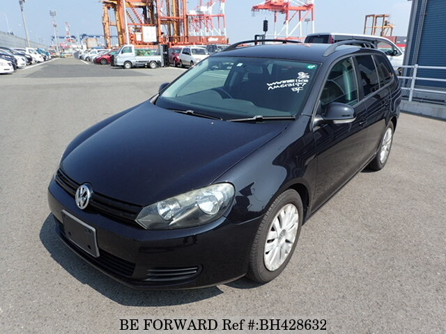Used 2010 VOLKSWAGEN GOLF VARIANT BH428632 for Sale