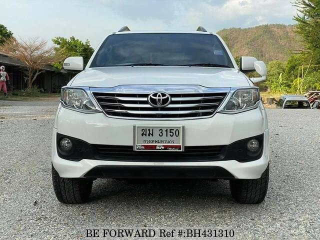 Used 2012 TOYOTA FORTUNER BH431310 for Sale