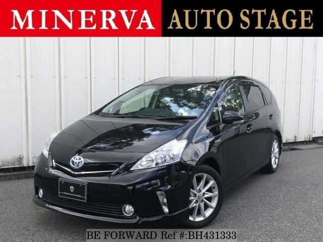 Used 2012 TOYOTA PRIUS ALPHA BH431333 for Sale