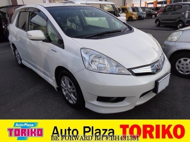 Used 2013 HONDA FIT SHUTTLE HYBRID BH431351 for Sale
