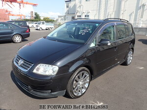 Used 2005 VOLKSWAGEN GOLF TOURAN BH428383 for Sale