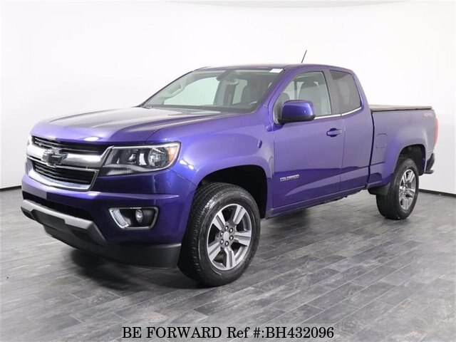 Used 2017 CHEVROLET COLORADO BH432096 for Sale