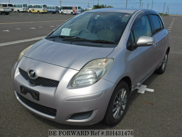 Used 2010 TOYOTA VITZ BH431476 for Sale