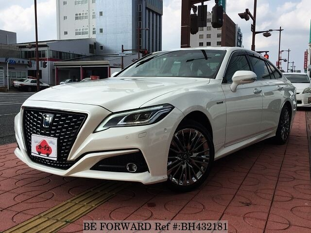 Used 2018 TOYOTA CROWN BH432181 for Sale