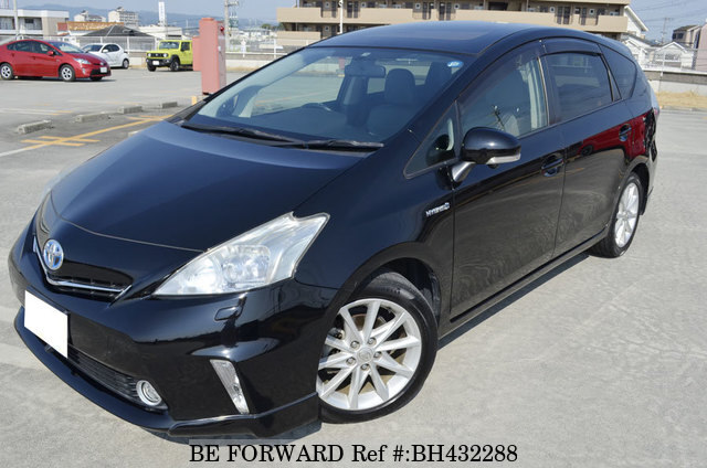 Used 2011 TOYOTA PRIUS ALPHA BH432288 for Sale