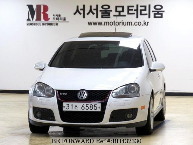 Used 2008 VOLKSWAGEN GOLF BH432330 for Sale