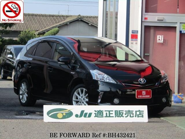 Used 2012 TOYOTA PRIUS ALPHA BH432421 for Sale