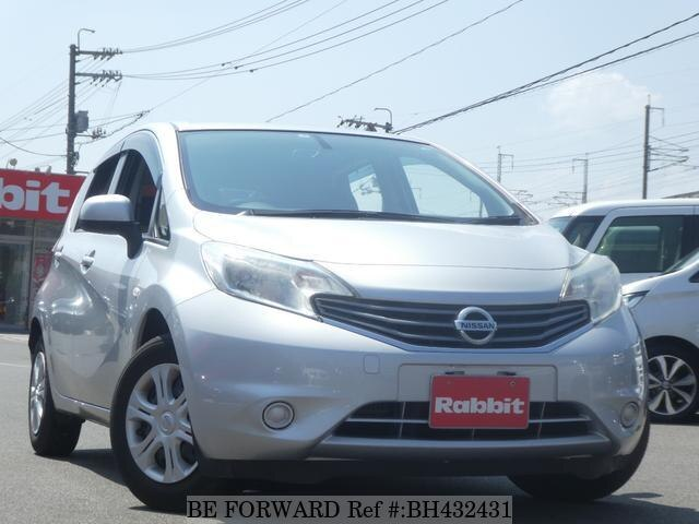 Used 2013 NISSAN NOTE BH432431 for Sale