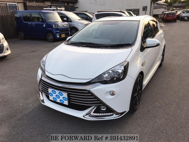 Used 2015 TOYOTA AQUA BH432891 for Sale
