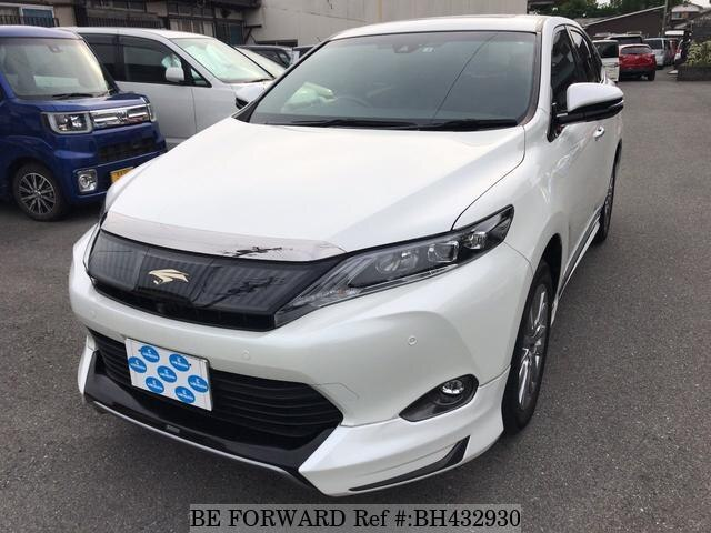 Used 2016 TOYOTA HARRIER BH432930 for Sale