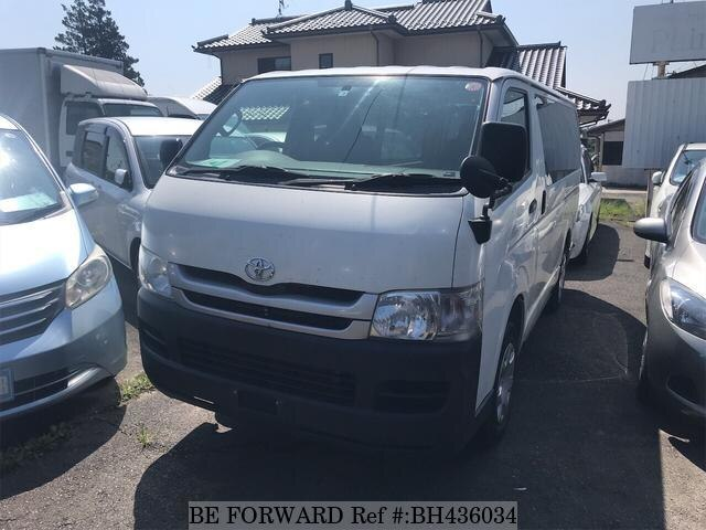 Used 2010 TOYOTA HIACE VAN BH436034 for Sale