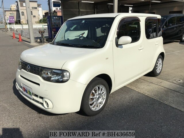 Used 2011 NISSAN CUBE BH436659 for Sale