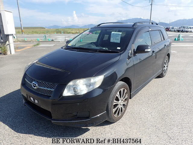 Used 2006 TOYOTA COROLLA FIELDER BH437564 for Sale