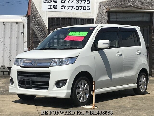 Used 2008 SUZUKI WAGON R BH438583 for Sale