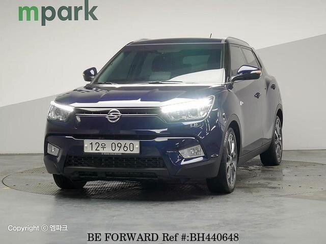 Used 2015 SSANGYONG TIVOLI BH440648 for Sale