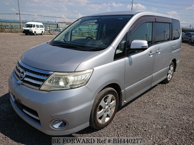 Used 2008 NISSAN SERENA BH440277 for Sale