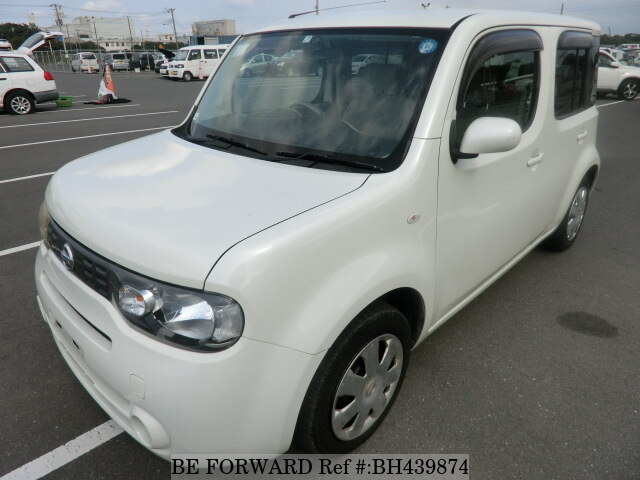 Used 2011 NISSAN CUBE BH439874 for Sale