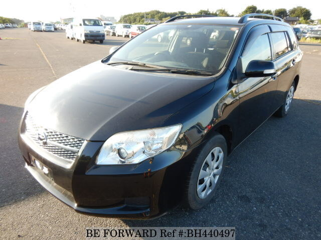Used 2008 TOYOTA COROLLA FIELDER BH440497 for Sale