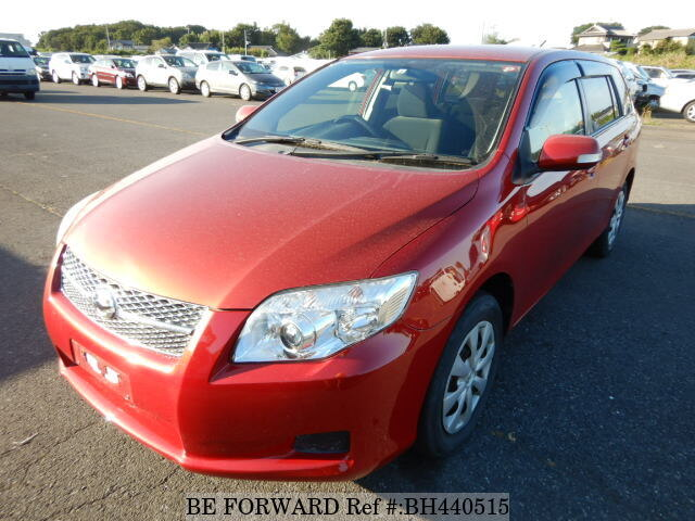 Used 2008 TOYOTA COROLLA FIELDER BH440515 for Sale