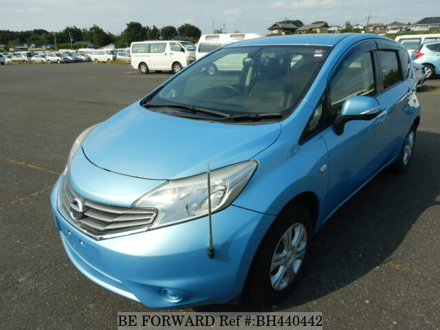 Used 2013 NISSAN NOTE BH440442 for Sale