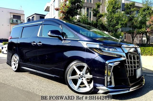Used 2018 TOYOTA ALPHARD HYBRID BH442413 for Sale